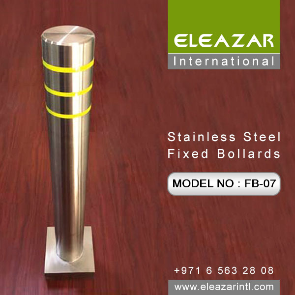 Leading Stainless steel Fixed Bollard supplier in UAE