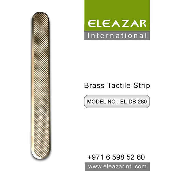 High Quality Brass Tactile Strip Provider UAE