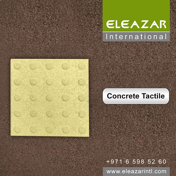 High Quality Concrete Tactile in UAE