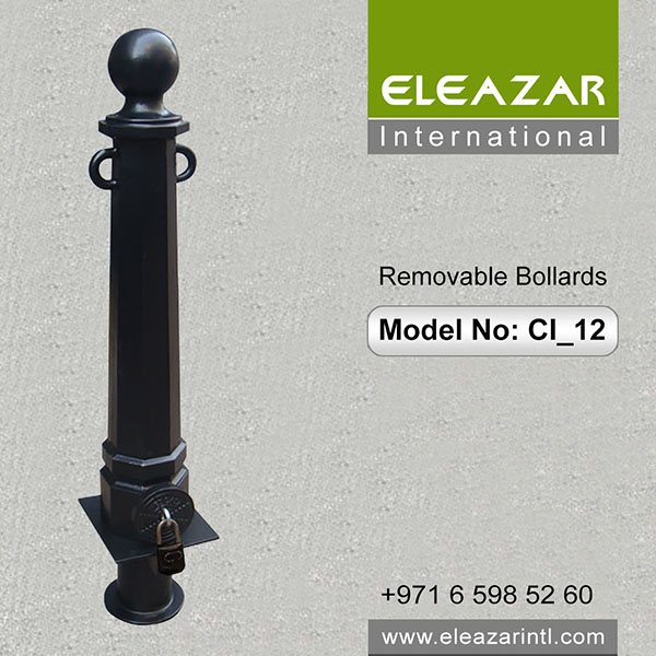 Top Removable Bollards in UAE