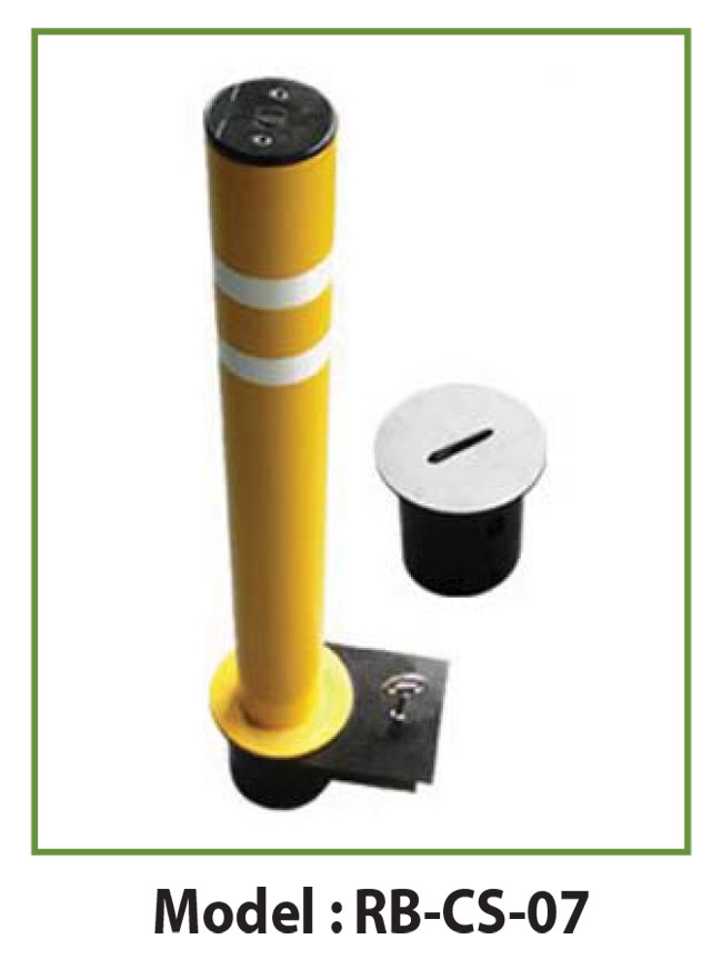 removable bollards modelcs7