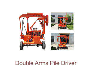Double Arms Pile Driver