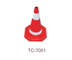Rubber Traffic Cone - TC-7001