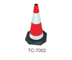 Rubber Traffic Cone - TC-7002