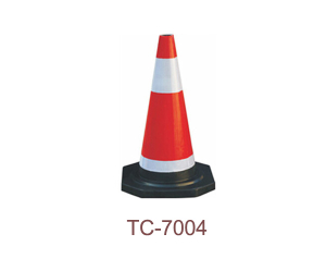 Rubber Traffic Cone - TC-7004