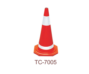 Rubber Traffic Cone - TC-7005